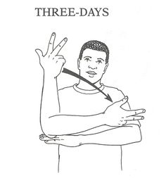 "A uniqueness in American Sign Language: many signs can be affected (similar to a prefix/affix/suffix in English) to alter the meaning without a separate word, creating denser meaning with less words. Example: DAY can be altered with the numbers 1-9 to create a single word meaning ""three days"" (TEN and above are not possible)."