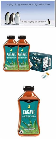 Xagave is a Premium Blend of Agave Nectar derived from organic Agave Salmiana (White Agave) and organic inulin from Agave Tequilana (Blue Agave). This combination results in the highest quality nectar with the best taste, best Cooking Qualities and the most Health Benefits of any nectar on the market; making our nectar the perfect sweetener for all of your cooking, canning, and baking needs.  www.xagave.com