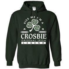 cool CROSBIE Name Tshirt - TEAM CROSBIE, LIFETIME MEMBER