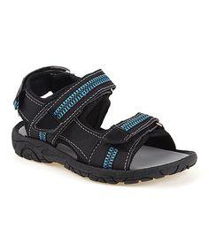 Black & Blue Sport Sandal