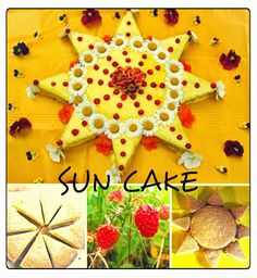 In celebration of of our up coming summer solstice, the girls and I decided to create a sun inspired cake! It was wonderful to bring t...