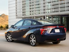 Toyota Unveils Mirai Fuel Cell Vehicle With 300-Mile Range; Ca...