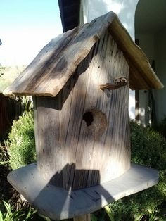 Rustic Tree Bird house by Jeff Snow
