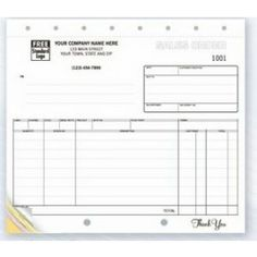 Part Purchase Order Booklet  X  Ruled  Business Forms