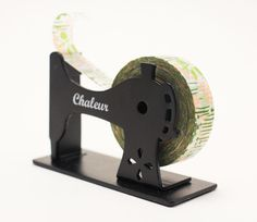 """Chaleur"" Sewing Machine - Tape Dispenser 