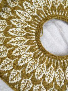 Ravelry: Arboreal pattern by Jennifer Steingass Knitting Patterns Free, Free Pattern, Icelandic Sweaters, Fair Isle Knitting, Types Of Yarn, Needle And Thread, Ravelry, Knit Crochet, My Design
