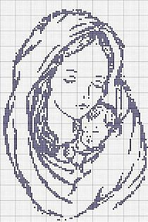 Cross stitch charts / Diagramas punto de cruz na Stylowi.pl