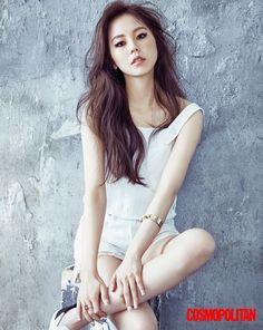Sohee - Cosmopolitan Korea August Issue '16