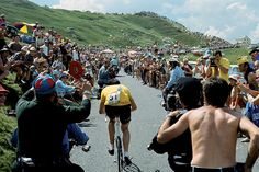 Tour de France 1969 - Eddie Merckx sets off alone on a break that lasted 140km in the Pyrenees
