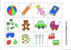 Pracovní listy pro děti: Hry s pexesem + pexeso k vytisknutí