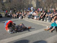 Union Square Park - Street Performers get great audiences here!