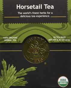 Horsetail Tea - Organic Herbs - 18 Bleach Free Tea Bags * Quickly view this special product, click the image : Fresh Groceries