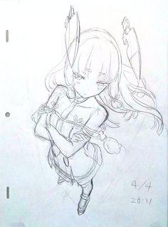 Learn To Draw Manga - Drawing On Demand Anime Art Girl, Manga Art, Manga Drawing, Figure Drawing, Anime Drawings Sketches, Anime Sketch, Drawing Reference Poses, Drawing Poses, Anime Character Drawing