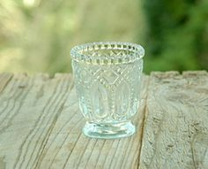SaveOnCrafts: 20%-70% of Wedding Decor Every Day - Heirloom Votive Candle Holders Clear 3in (Set of 6) for $9.99