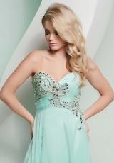 Mint prom dress!