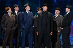 Nominee Nick Cordero and the cast of 'Bullets Over Broadway' performs onstage during the 2014 Tony Awards.