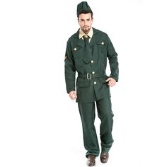 Fashion Mens Police Cosplay Costume Cops Adult Uniform Officer Fancy Dress Costume Party Halloween Costumes For Men A155807 #Affiliate