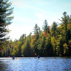 A little chilly but oh so beautiful. #adirondacks #kayaking #lakelife #fall by laurensivophotography
