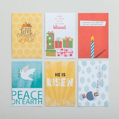 Illustrated Faith - Celebrations - Postcards, Set of 12