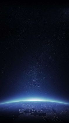 Earth Sunrise Space iPhone Wallpaper - iPhone Wallpapers