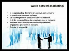 Wat is netwerk marketing?