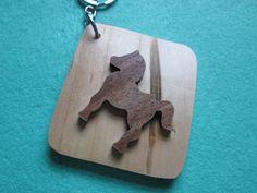 pony keychain by ppwoodcrafts on Etsy, $6.00