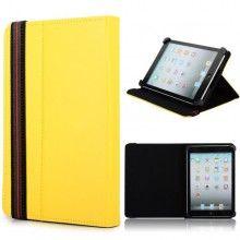 Funda Tablet 7 Pulgadas - Función Stand con Cierre - Amarillo