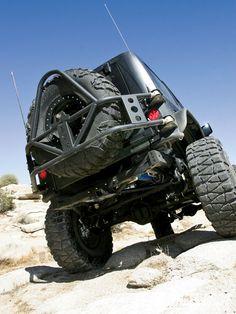 2010 Jeep Wrangler JK Unlimited Off Road Evolution Tire Carrier