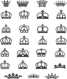 vetores de coroas vetorizadas | Vetorizado grátis: Vetores gratis, vector art free, Graphics vectors Images