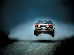 Audi Quattro Rally Car 1983 More...