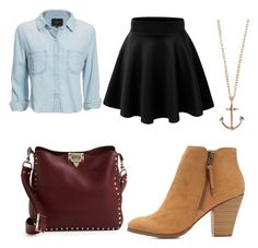 """""""untitled #17"""" by daniella0522 on Polyvore featuring Rails, Minor Obsessions, Valentino and Charlotte Russe"""