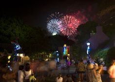 #IllumiNights at Busch Gardens, #fireworks