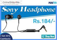 Sony MH-EX300AP Handsfree (Black) Buy Now Price: Rs. 184