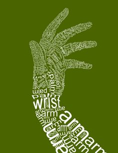 Hand In Text