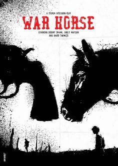 Minimalist Movie Poster: War Horse by Daniel Norris