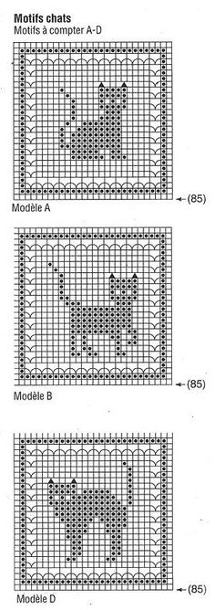 Gato em três posições