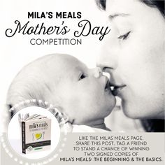Win 2 copies of Mila's Meals: The Beginning & The Basics Babies First Year, Health Coach, Whole Food Recipes, Competition, Meals, Book, Meal, Book Illustrations, Yemek