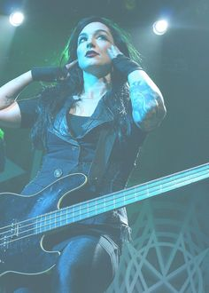 (FC: Lyn-Z Way) Hey I am Lyn-Z from Mindless Self Indulgence. I am sometimes referred to as the Bass Queen so you can use that title if you wish. Whats up?