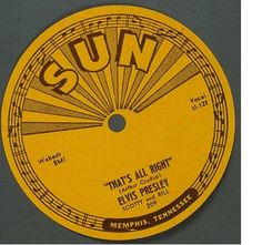 """""""That's All Right""""Elvis' approach to both differed from the originals He used a more relaxed vocal style and higher key for """"That's All Right"""" than Crudup had.Two elements were added to both songs that would make Elvis famous -- syncopation and a """"slapback"""" echo effect. """"That's All Right"""" received extended airplay on Dewey Phillips' it was released as a single on July 19, 1954 it did not chart nationally, but it launched the recording career of the most famous singer of the 20th century."""