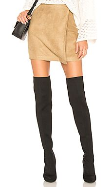 New BCBGeneration A Line Faux Suede Skirt online. Perfect on the Beyond Yoga Clothing from top store. Sku loag23903oatc55421