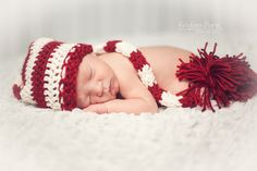A Christmas Baby Boy – Indianapolis Newborn Photography