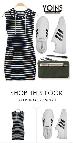 """""""Yoins"""" by anchystar90 ❤ liked on Polyvore featuring adidas"""