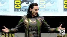 Loki Takes Hall H SDCC 2013 Comic Con FULL appearance! This was a year ago, but it never gets old!!!! I am proud to be apart of Loki's army!!!!!!!!!!!!!!!!!!