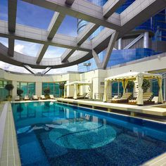 Langham Place Hotel - ein atemberaubendes Haus. Zu finden in Hongkong.