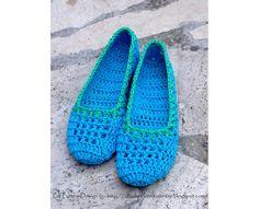 FILET NETTING Home Shoes Crochet Pattern by PdfPatternDesign
