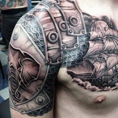 Armor tattoo - #3                                                                                                                                                                                 More