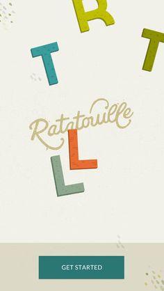 Home Ratatouille app