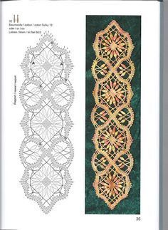 bobbin lace bookmark patterns - Recherche Google