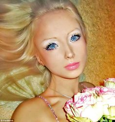 real life Barbie.. I say: creepy =='