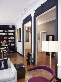 Eclectic residential apartment